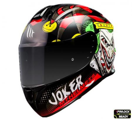 Casca integrala MT Targo Joker A1 negru lucios [1]