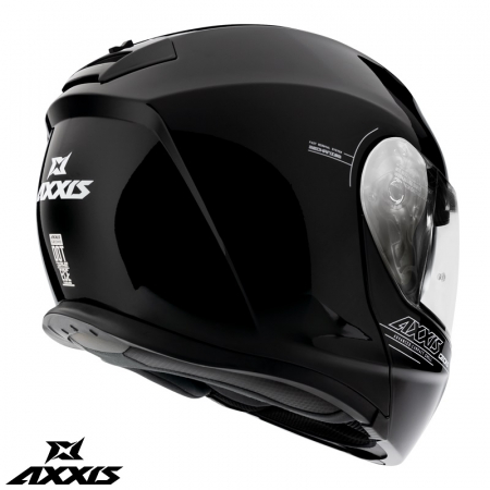 Casca modulabila Axxis model Gecko SV A1 negru lucios (ochelari soare integrati) [3]