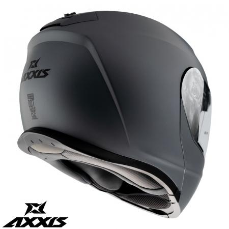 Casca modulabila Axxis model Gecko SV A1 negru mat (ochelari soare integrati) [3]