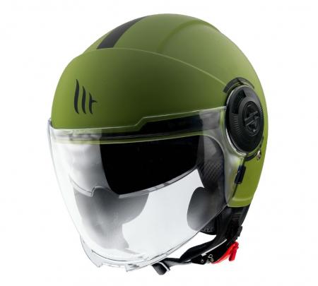 Casca MT Viale SV A6 verde mat (ochelari soare integrati) [1]