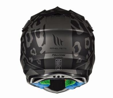 Casca off road motociclete MT Falcon Karson F0 negru mat [3]