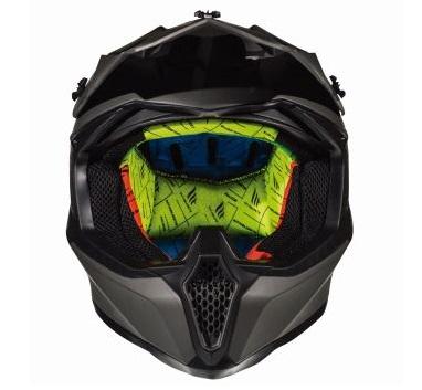 Casca off road motociclete MT Falcon Karson F0 negru mat [2]