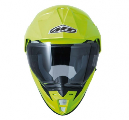 Casca off road motociclete MT Synchrony Duo Sport galben fluor lucios cu viziera (ochelari soare integrati) [1]
