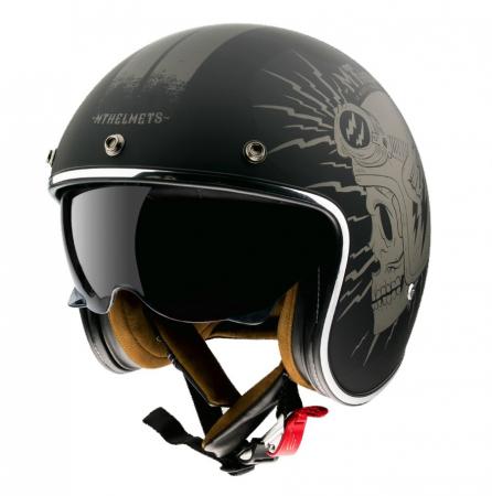Casca open face motociclete MT Le Mans 2 SV Diler A2 gri mat (ochelari soare integrati) [1]