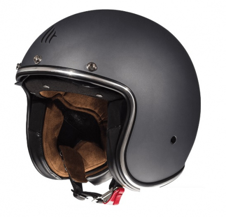 Casca open face motociclete MT Le Mans 2 SV negru mat (ochelari soare integrati) [1]