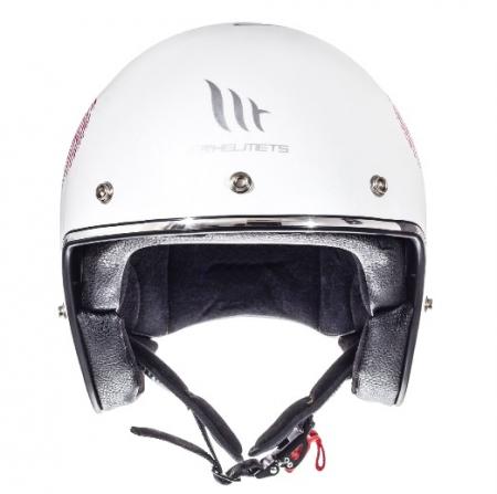 Casca open face motociclete MT Le Mans SV Love alb/rosu/fuchsia lucios (ochelari soare integrati) [2]