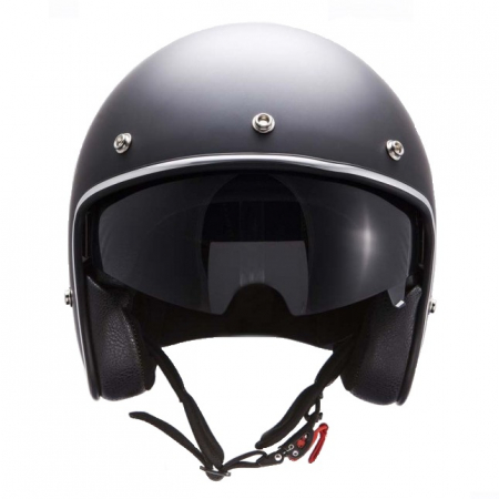 Casca open face motociclete MT Le Mans SV negru mat (ochelari soare integrati) [2]