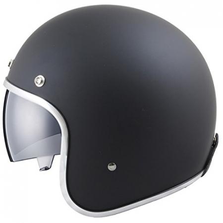 Casca open face motociclete MT Le Mans SV negru mat (ochelari soare integrati) [0]