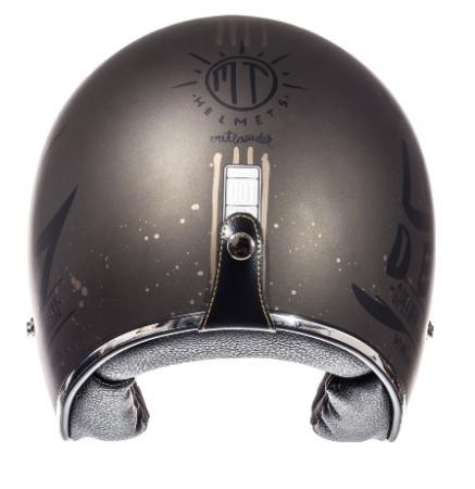 Casca open face motociclete MT Le Mans SV Outlander maro metalic/negru mat (ochelari soare integrati) [3]
