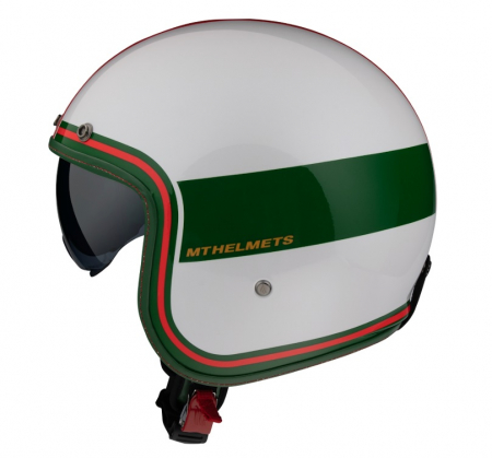 Casca open face MT Le Mans 2 SV Tant D5 rosu lucios (ochelari soare integrati) [0]