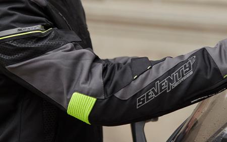Geaca (jacheta) barbati Racing Seventy vara/iarna model SD-JR69 culoare: negru/galben fluor [3]