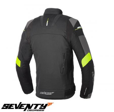 Geaca (jacheta) barbati Racing Seventy vara/iarna model SD-JR69 culoare: negru/galben fluor [1]