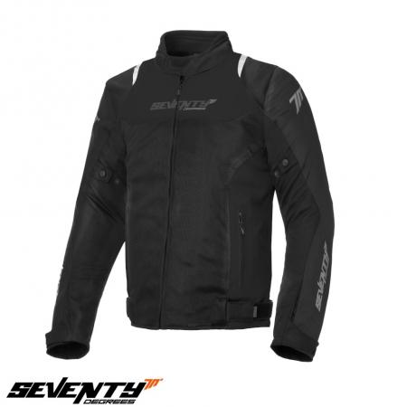Geaca (jacheta) barbati Racing vara Seventy model SD-JR48 culoare: negru [0]