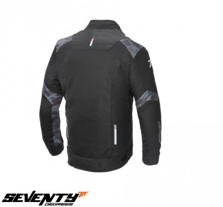 Geaca (jacheta) barbati Racing vara Seventy model SD-JR52 culoare: negru/camuflaj [1]