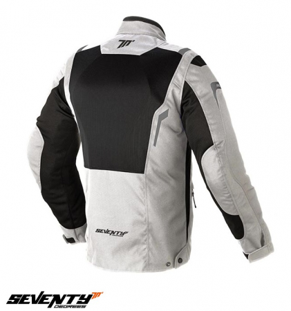 Geaca (jacheta) barbati Touring Seventy vara model SD-JT44 culoare: alb ice/negru [1]
