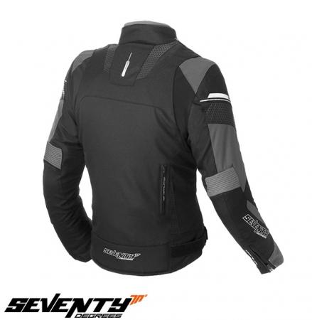 Geaca (jacheta) femei Racing Seventy vara/iarna model SD-JR71 culoare: negru/gri [1]