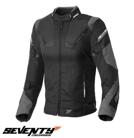 Geaca (jacheta) femei Racing Seventy vara/iarna model SD-JR71 culoare: negru/gri [0]