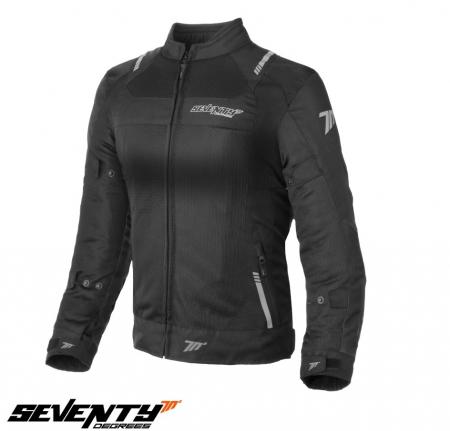 Geaca (jacheta) femei Racing vara Seventy model SD-JR54 culoare: negru [0]