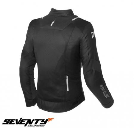 Geaca (jacheta) femei Racing vara Seventy model SD-JR54 culoare: negru [1]