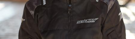 Geaca (jacheta) femei Racing vara Seventy model SD-JR54 culoare: negru/camuflaj [2]