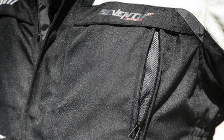 Geaca (jacheta) motociclete barbati Touring Seventy vara/iarna model SD-JT41 culoare: negru/gri [2]