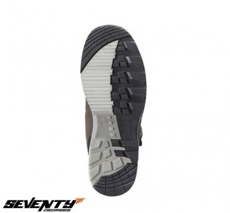 Ghete (cizme) moto Adventure (Touring) Unisex Seventy model SD-BA5 culoare: maro [1]