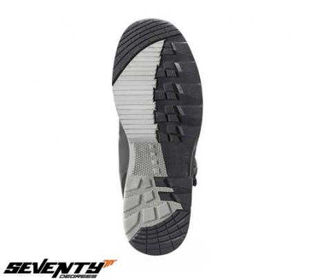 Ghete (cizme) moto Adventure (Touring) Unisex Seventy model SD-BA5 culoare: negru [1]