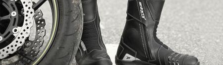 Ghete (cizme) moto Touring Unisex Seventy model SD-BT3 (varianta scurta a ghetelor SD-BT2) culoare: negru [2]