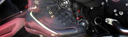Ghete moto Urban Unisex Seventy model SD-BC6 culoare: negru [5]