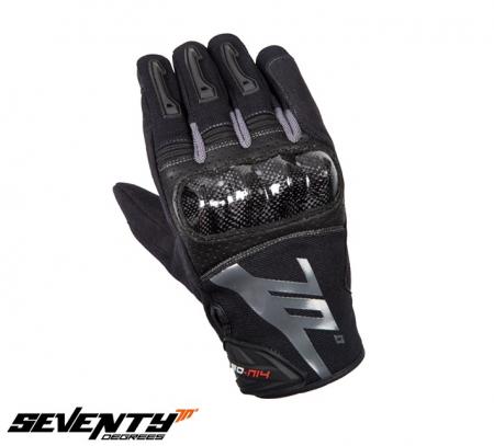 Manusi barbati Racing/Naked vara Seventy model SD-N14 negru/gri – degete tactile [1]