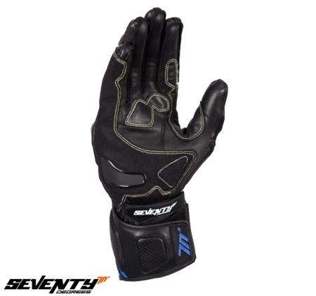 Manusi barbati racing vara Seventy model SD-R2 negru/albastru [2]