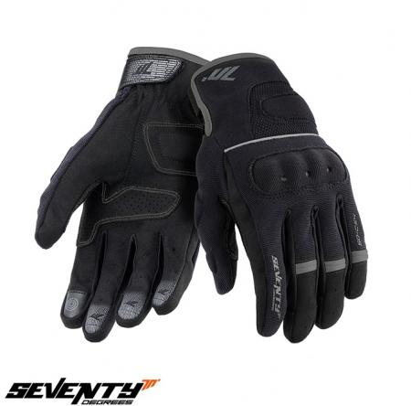 Manusi barbati Urban vara Seventy model SD-C54 negru/gri – degete tactile [0]
