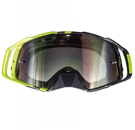 Ochelari MT off road (cross-enduro) MX EVO Stripes – culoare negru/galben fluor [1]