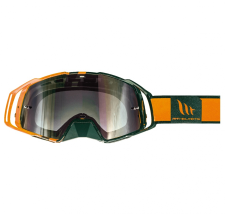 Ochelari MT off road (cross-enduro) MX EVO Stripes – culoare negru/portocaliu [0]