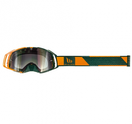 Ochelari MT off road (cross-enduro) MX EVO Stripes – culoare negru/portocaliu [2]