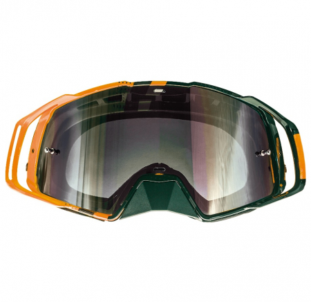 Ochelari MT off road (cross-enduro) MX EVO Stripes – culoare negru/portocaliu [1]