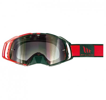 Ochelari MT off road (cross-enduro) MX EVO Stripes – culoare negru/rosu [0]