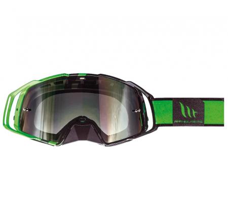 Ochelari MT off road (cross-enduro) MX EVO Stripes – culoare negru/verde fluor [0]