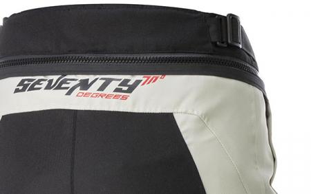 Pantaloni motociclete Touring unisex Seventy vara/iarna model SD-PT1 culoare: negru/gri [2]