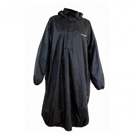 Pelerina impermeabila ploaie (poncho) Unik Racing culoare: negru – marime XL/XXL [1]