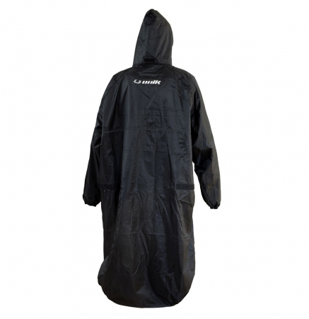 Pelerina impermeabila ploaie (poncho) Unik Racing culoare: negru – marime XL/XXL [2]