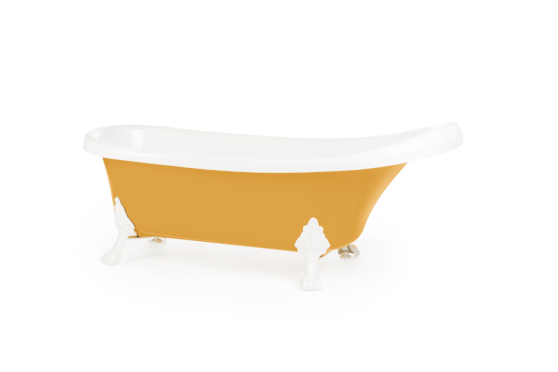 Cadă de baie freestanding KNOSSOS 170 cm x 70 cm - Yellow1