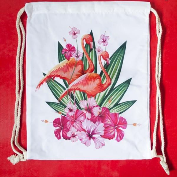 Rucsac Flamingo #1 - 35x45 cm 0