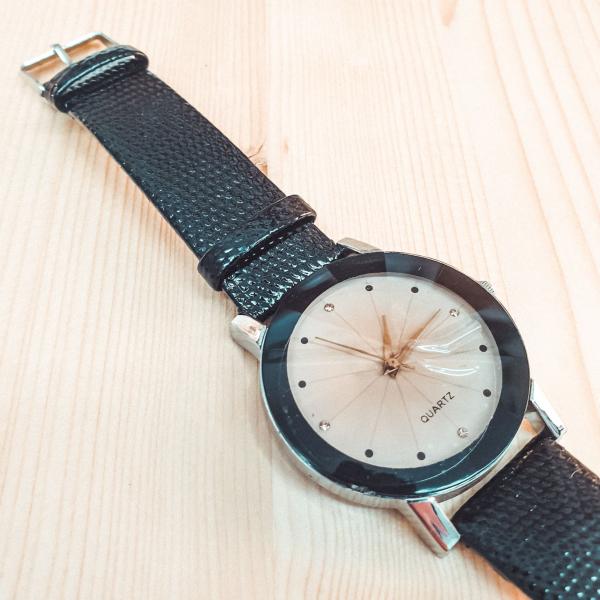 Ceas de dama Quartz negru 1