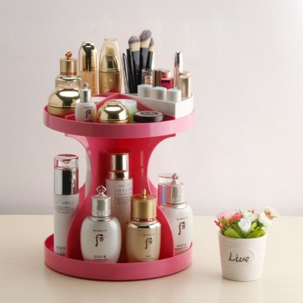 Organizator De Cosmetice Cu Rotire 360 0