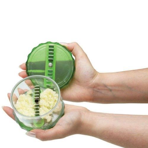Aparat De Tocat Usturoi + Tub De Curatat Usturoi - Garlic Pro 3
