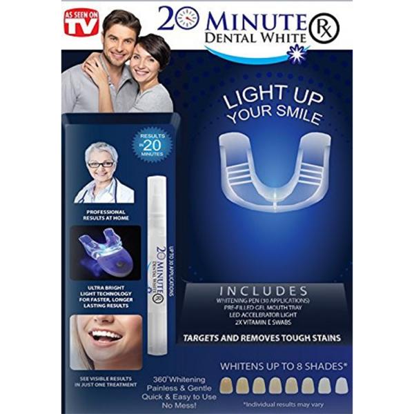 Aparat Pentru Albirea Dintilor – 20 Minute Dental White 2