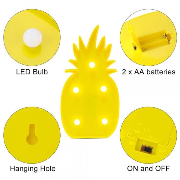 Lampa Led Ananas 3