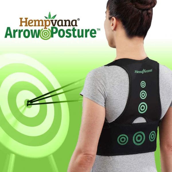 Corector postura spate - Hempvana Arrow Postura - corecteaza poziția spatelui 0