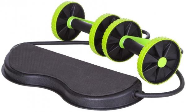 Roată dublă cu role pentru abdomen Fitness Extreme 1